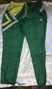 Umbro NWT track pants size XL  Green And Yellow