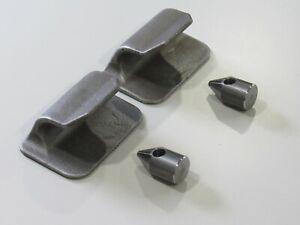 John Deere Quick Attach Weld Bracket 120R 200 300 400 500 Loader Hooks & Pins
