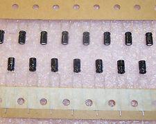QTY (50)  10uf 16V 85' MINIATURE RADIAL ELECTROLYTIC SSP100M1CC07HFK JAMICON