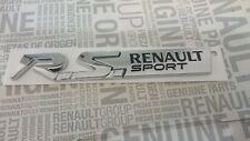 Logo Emblema Renault Sport RS Twingo Megane Clio 3 III Monograma Original Nuevo