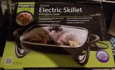 "Presto National IND 06856 16"" Ceramic Electric Skillet, Inch"