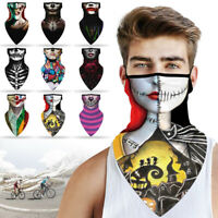 Halloween Christmas Balaclava Neck Gaiter Bandana Tube Scarf Face Mask Cover US