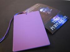 Tesla Purple Plate - Positive Energy - 2.76 x 4.37 in (7 x 11.1 cm) - Original