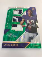 Chris Moore Triple Prime RPS Rookie Materials 01/10 2016 Panini Unparalleled