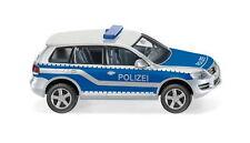 Polizei - VW Touareg GP Wiking 010449 Spur H0 1:87 Modellauto Automodell