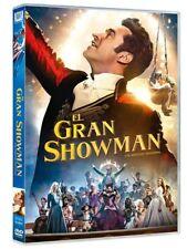 EL GRAN SHOWMAN DVD NUEVO ( SIN ABRIR ) HUGH JACKMAN THE GREATEST SHOWMAN