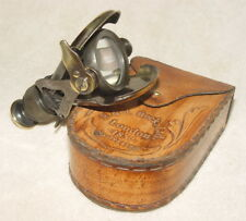 Sammeln Seltenes Alte Klassisch Tragbar Taschen Messing Teleskop mit Boxen