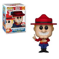 Funko Pop! Dudley Do Right 2018 Fan Expo Canada Exclusive Figure Rare