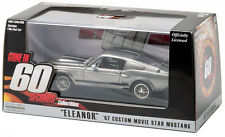Greenlight Gone in 60 Sixty Seconds 1967 Shelby GT500 Eleanor Grey 1:43 86411