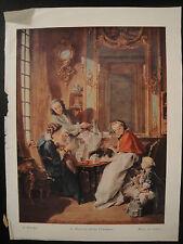 Photo d'art - Le Déjeuner - F.Boucher