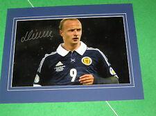 G Signed Scottish Player/Club Football Photos