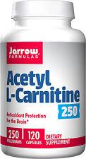 Jarrow Formulas Acetyl L-Carnitine 250 mg, 120 Capsules