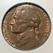 1964-D Jefferson Nickel  NGC MS63BN  Struck on copper planchet  Mint Error