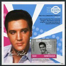 Grenada 2018 MNH Elvis Presley His Life in Stamps 1v S/S I Music Celebrities