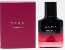 ZARA RED VANILLA FOR WOMAN EAU DE TOILETTE  EDT FRAGRANCE/ PERFUME 30ML