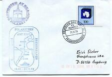 1994 Polarstern Bremerhaven Punta Arenas Posted at Sea Polar Antarctic Cover