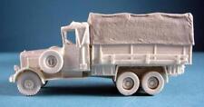 Milicast G041 1/76 Resin WWII German Mercedes LG3000 GS Truck w/ Full Tilt Cover
