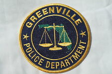US Greenville Police Patch Obsolete