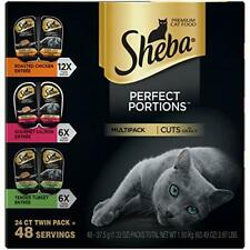 Sheba Perfect Portions Wet Cat Food Cuts In Gravy Roasted Chicken Entrée & Pack