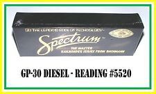 Bachmann Spectrum HO Scale: GP-30 Diesel _ Reading #5520 _ (MISB)