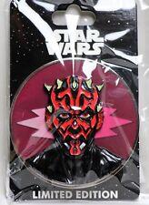 NEW D23 Walt Disney Imagineering WDI Star Wars Villains DARTH MAUL Pin LE 300