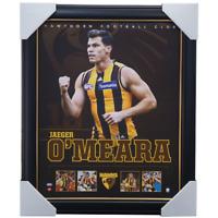 Jaegar O'Meara Hawthorn F.C. Official AFL Licensed Print Framed BRAND NEW
