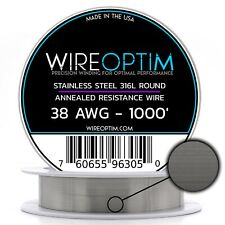 Ss 316l 38 Awg Stainless Steel Wire 316l 01007mm 1000