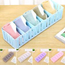 Storage Box Bra Underwear Separator Socks Closet Organizer Drawer Divider New