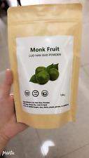 Neues Angebot100g 100% reine gemahlene Luo Han Guo, Mönchsfrucht, Monk fruit