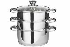 Unbranded Stainless Steel Steamers Pans