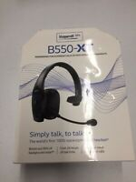 BlueParrott® B550-XT Premium Headset with Noise Cancellation, Hands Free / C-385