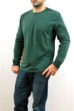 Guess by Marciano Long Sleeved Top Shirt Casuals Stretch Muscle fit Green XXL