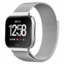 Uhrenarmbänder Für Fitbit Versa 2/Versa/Versa Lite Metallbänder Verstellbares