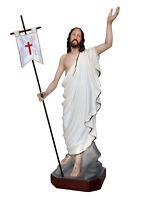 STATUA GESU' RISORTO-JESUS RISEN CM. 60 RESINA - Polyester