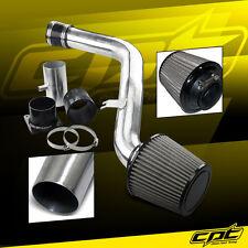 Polish Cold Air Intake+Black Filter For Nissan 02-06 Altima//04-05 Maxima 3.5L V6