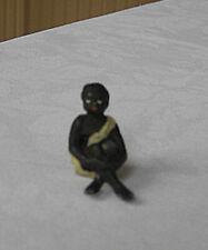 vintage Black Americana Miniature Metal Figurine-Figure