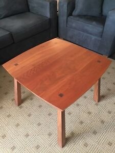 NEW! STICKLEY Metropolitan Lamp Table with Drawer (Solid Cherry and Walnut)