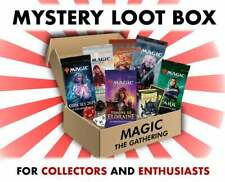 magic the gathering Mystery Box Booster Packs + Other Cards!