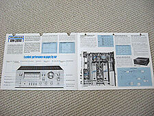 Akai AM-2850 integrated amplifier brochure catalogue