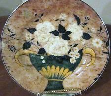 "Sakura 1997 Warren Kimble ""White Roses"" Stoneware Salad Plate"