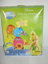 Disney Fairies Easter Egg Decorating Kit 1 Fairy Dust Shaker 25 Stickers Etc Nib