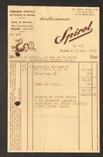 "FECAMP (76) USINE de MOBILIER de BUREAU ""SPIROL"" en 1950"