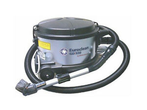 Euroclean 4 Gallon Dry Only GD930 HEPA Vacuum