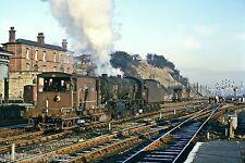 British Rail 8F No.90363 Wakefield Kirkgate 02/01/67 Rail Photo R0665