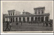 NAPOLI Neapel ~1910/20 Stazione Ferroviaria Bahnhof AK Italien Italy Cartolina