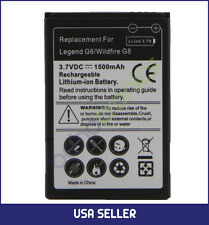 HTC Wildfire G8 Lithium-ion Replacement Li-ion Rechargeable Battery 1500 mAh
