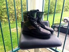 Emporio Armani Jeans Military Boots US8.5/9 Green/Black F/W 2011 Visvim Giorgio