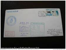 TAAF lettre 21/6/86 - timbre Yvert et Tellier n°110