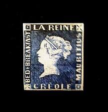 Mauritius 1851- 2p Bed & Breakfast Queen Victoria  Creole Office,$25000 Replica