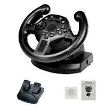 Gaming Vibration Racing Steering Wheel (7.87inch)+Pedals for Xbox One PS3 PS4 PC